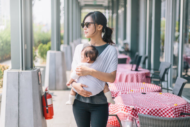 Konny Baby Carrier - Grid Color