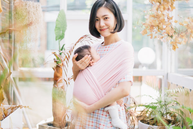 Konny Baby Carrier - Pink Color