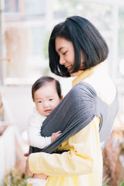 Konny Baby Carrier - Charcoal Color