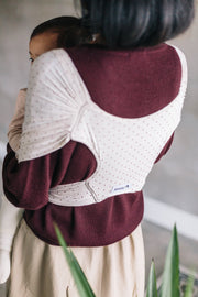 Konny Baby Carrier - Wine Dot Color
