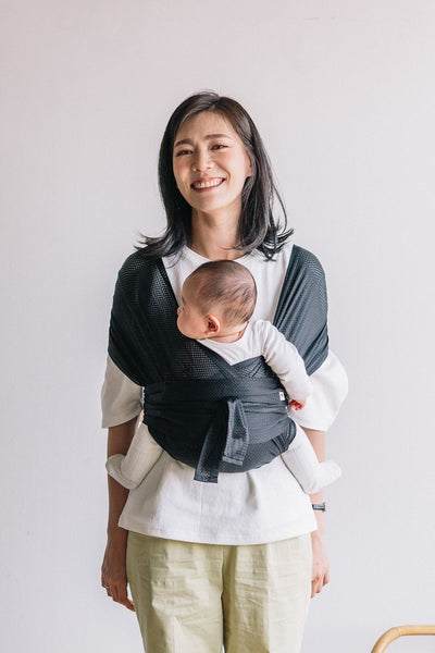 Konny Baby Carrier Summer – Black