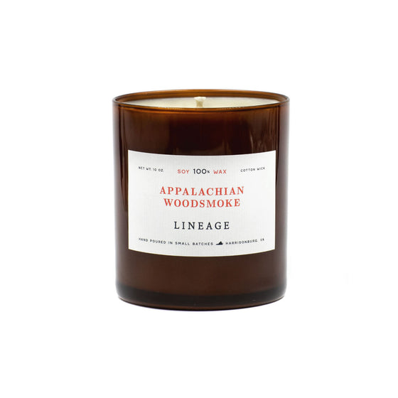 10 oz Appalachian Woodsmoke Candle
