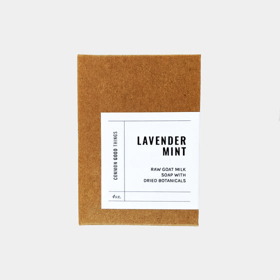 4 oz Soap Bar | Lavender Mint