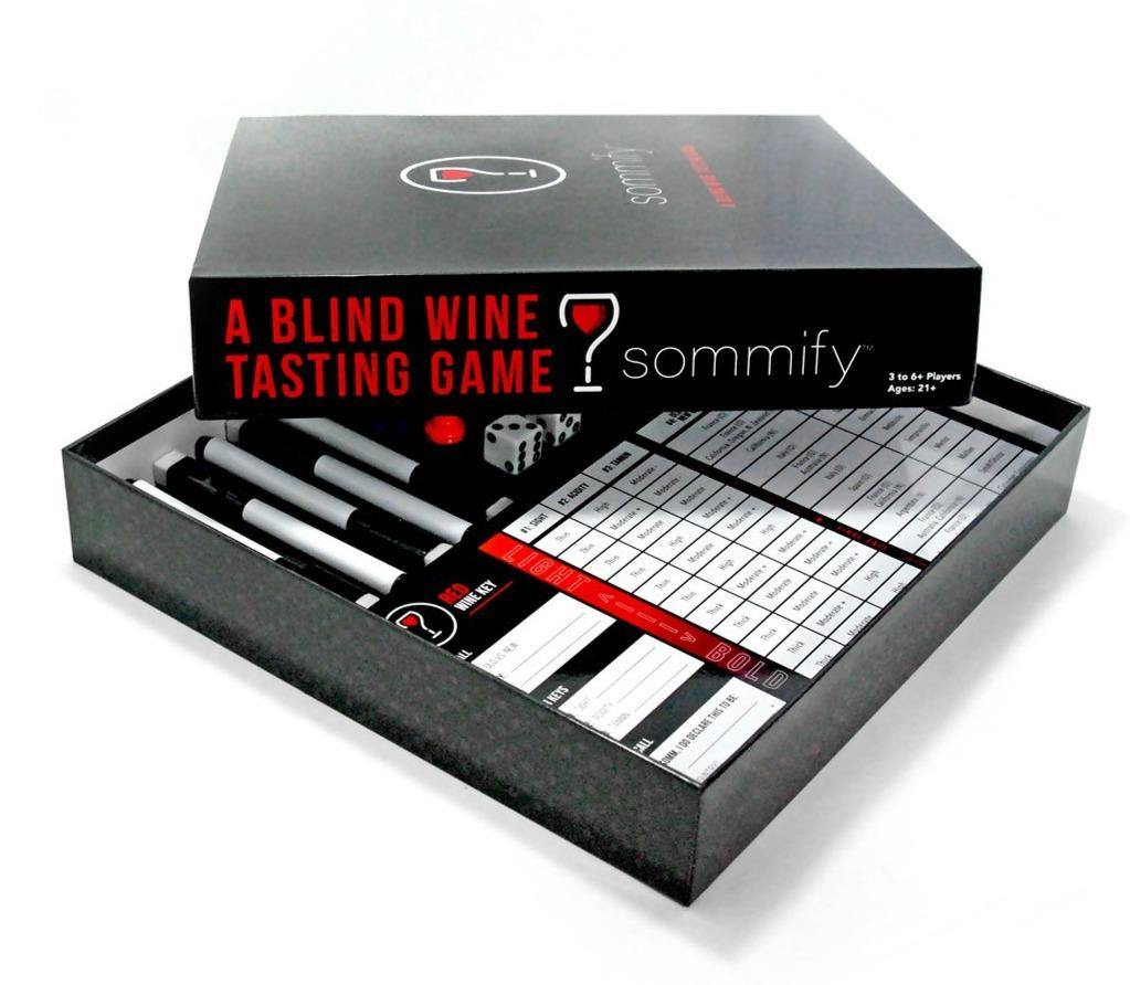 Sommify: A Blind Wine Tasting Game (Local Delivery)