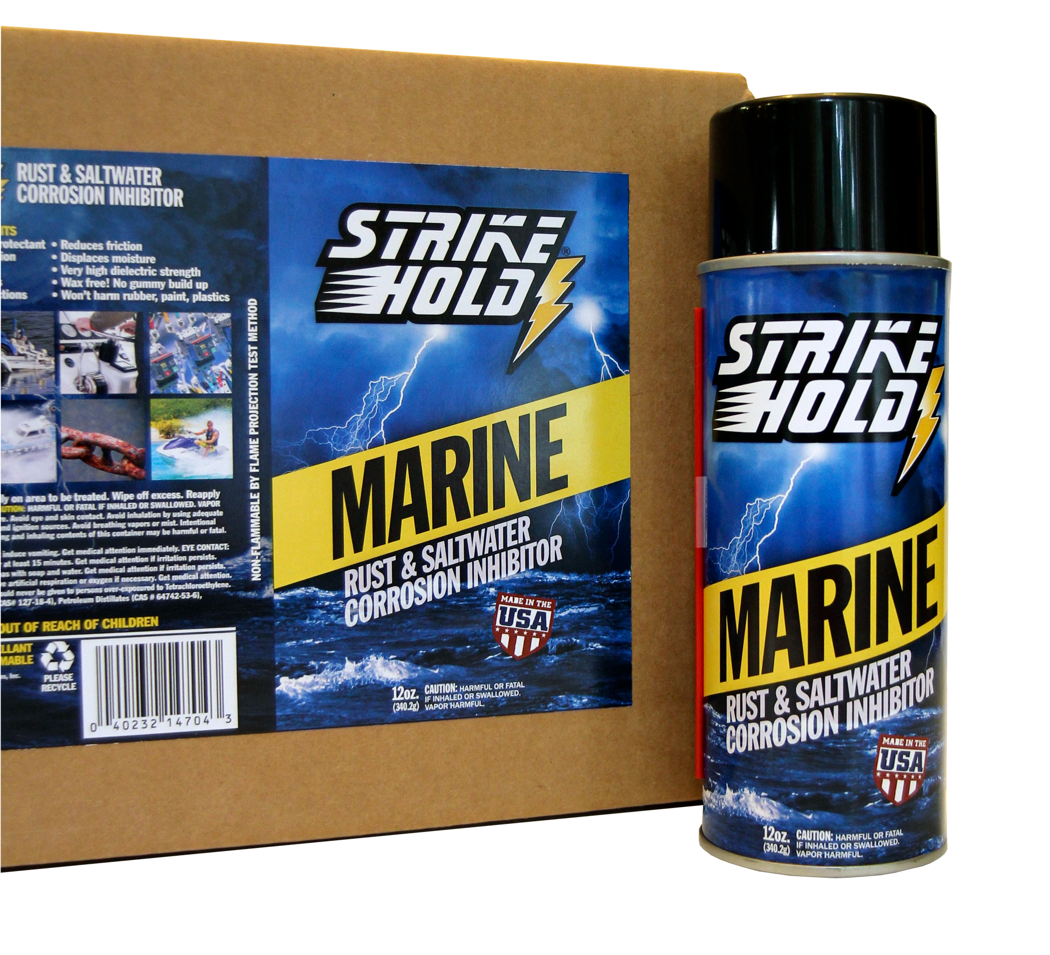 StrikeHold Marine®-12oz. Aerosol Can, Case of (12)