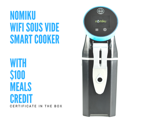 Nomiku WiFi Sous Vide Smart Cooker - Meal Delivery Compatible ($100 food credit)