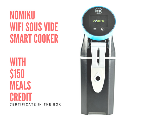 Nomiku WiFi Sous Vide Smart Cooker - Meal Delivery Compatible ($150 food credit)