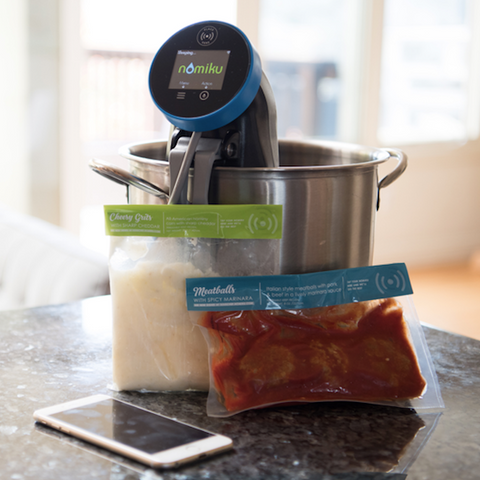 Nomiku WiFi Sous Vide Smart Cooker - Meal Delivery Compatible ($50 food credit)