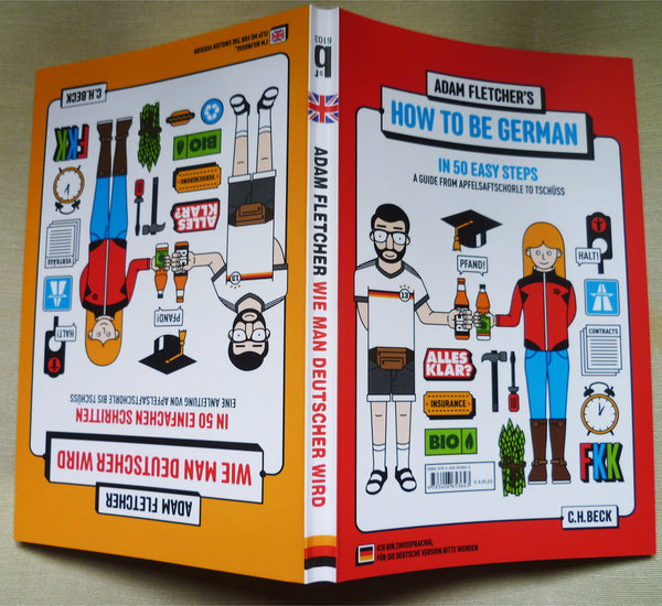 How to be German / Wie man Deutscher wird Book