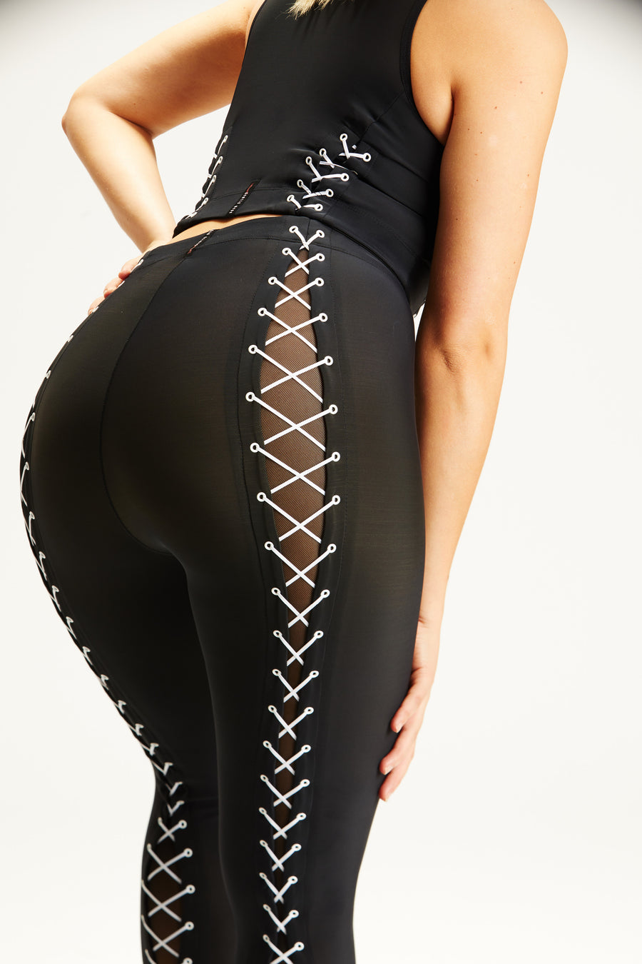 Lace-Up Legging
