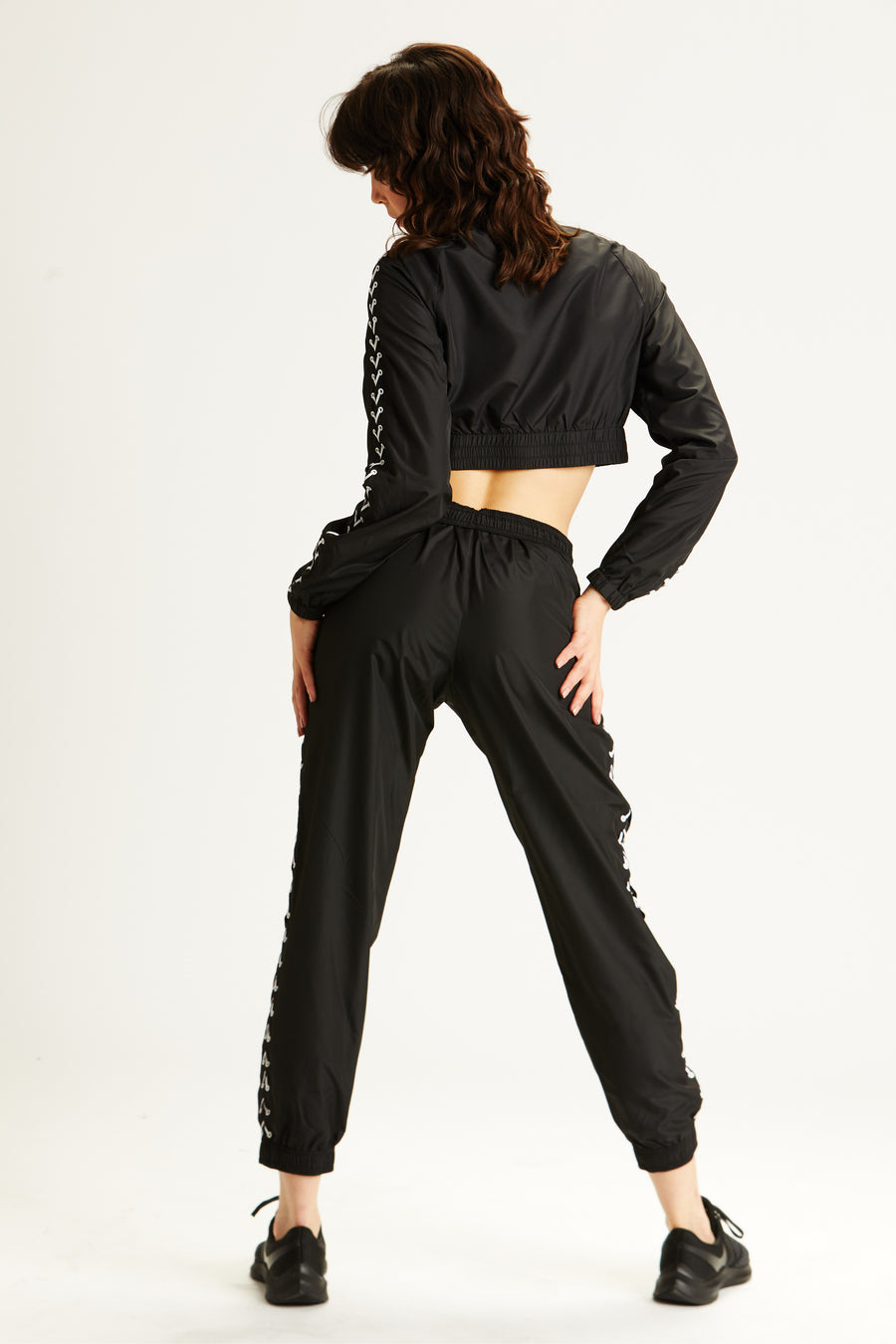 Lace-Up Track Pant