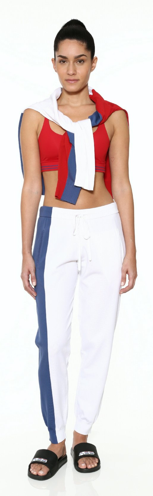 Unisex Colorblock Sweatpant - RWB