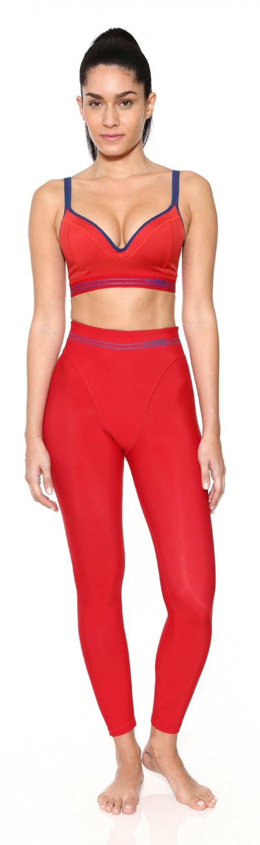 French Cut Legging - Lipstick