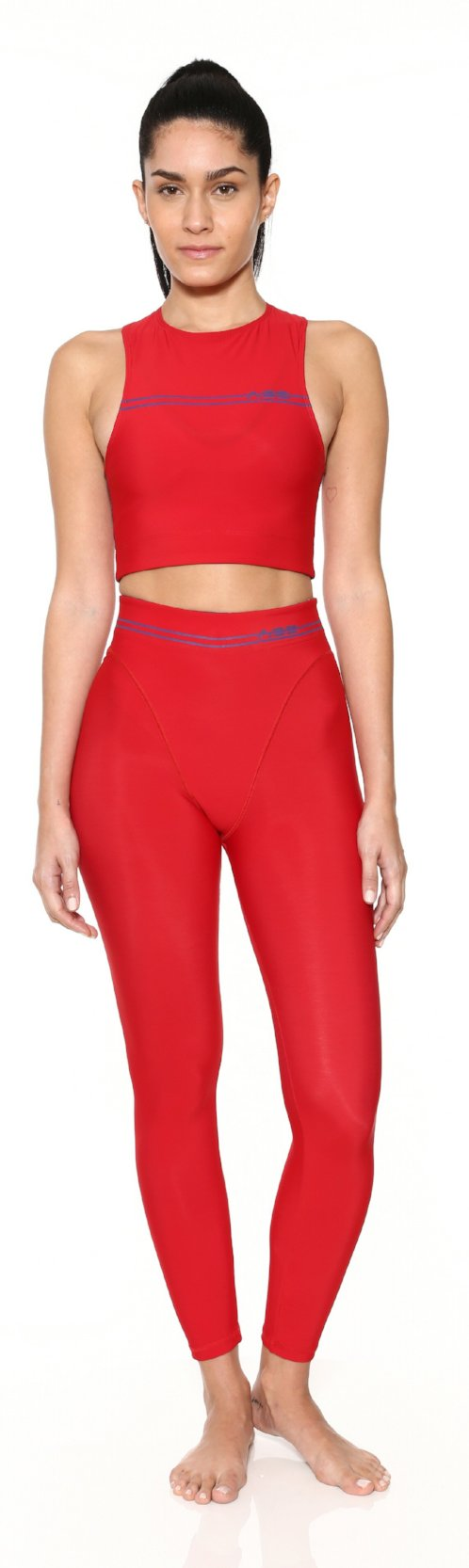 Lipstick Racer Crop Top