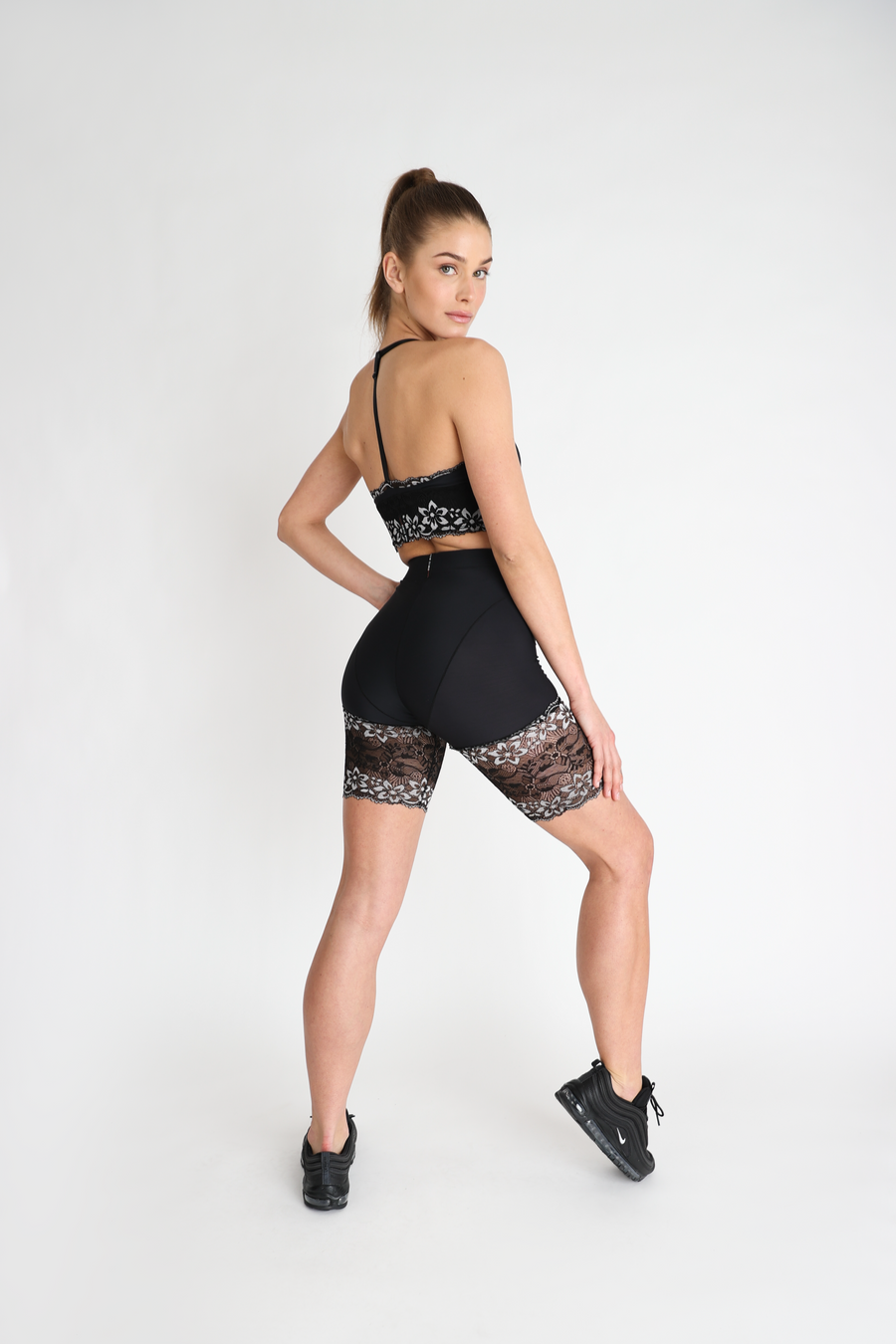 Lace French Cut Biker Short