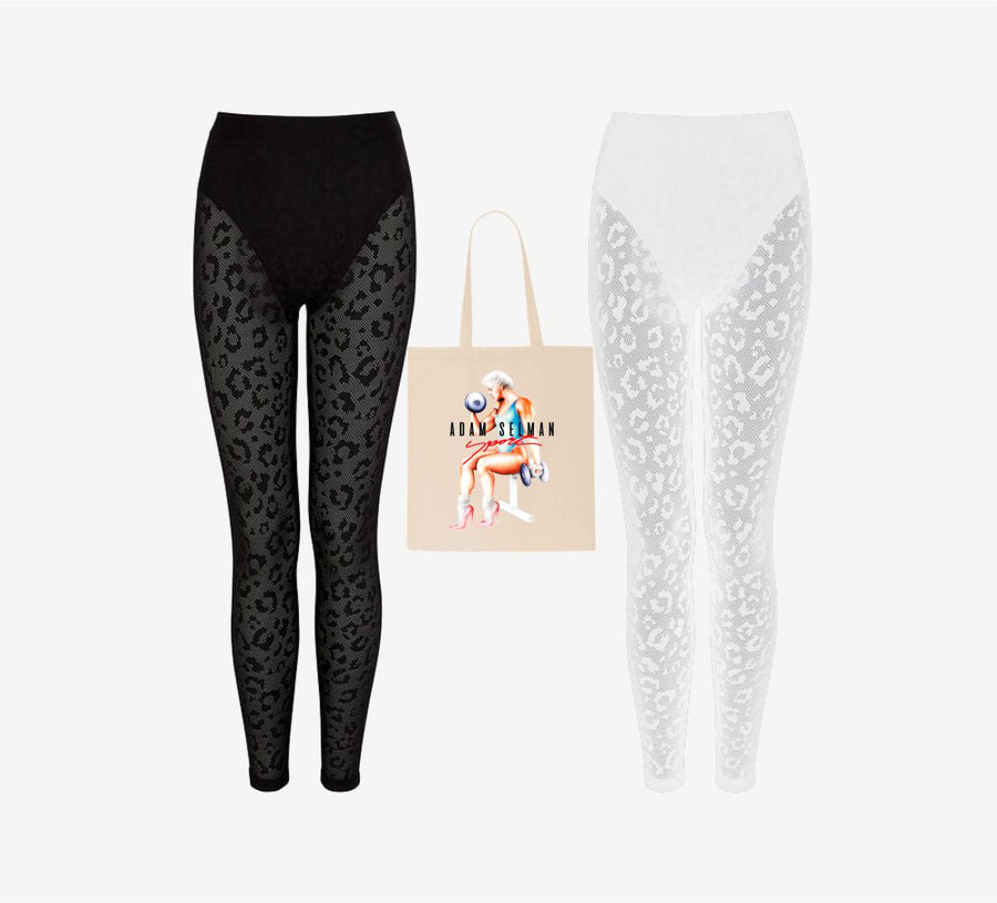 The Iconic Perforated Leopard ASS Pack