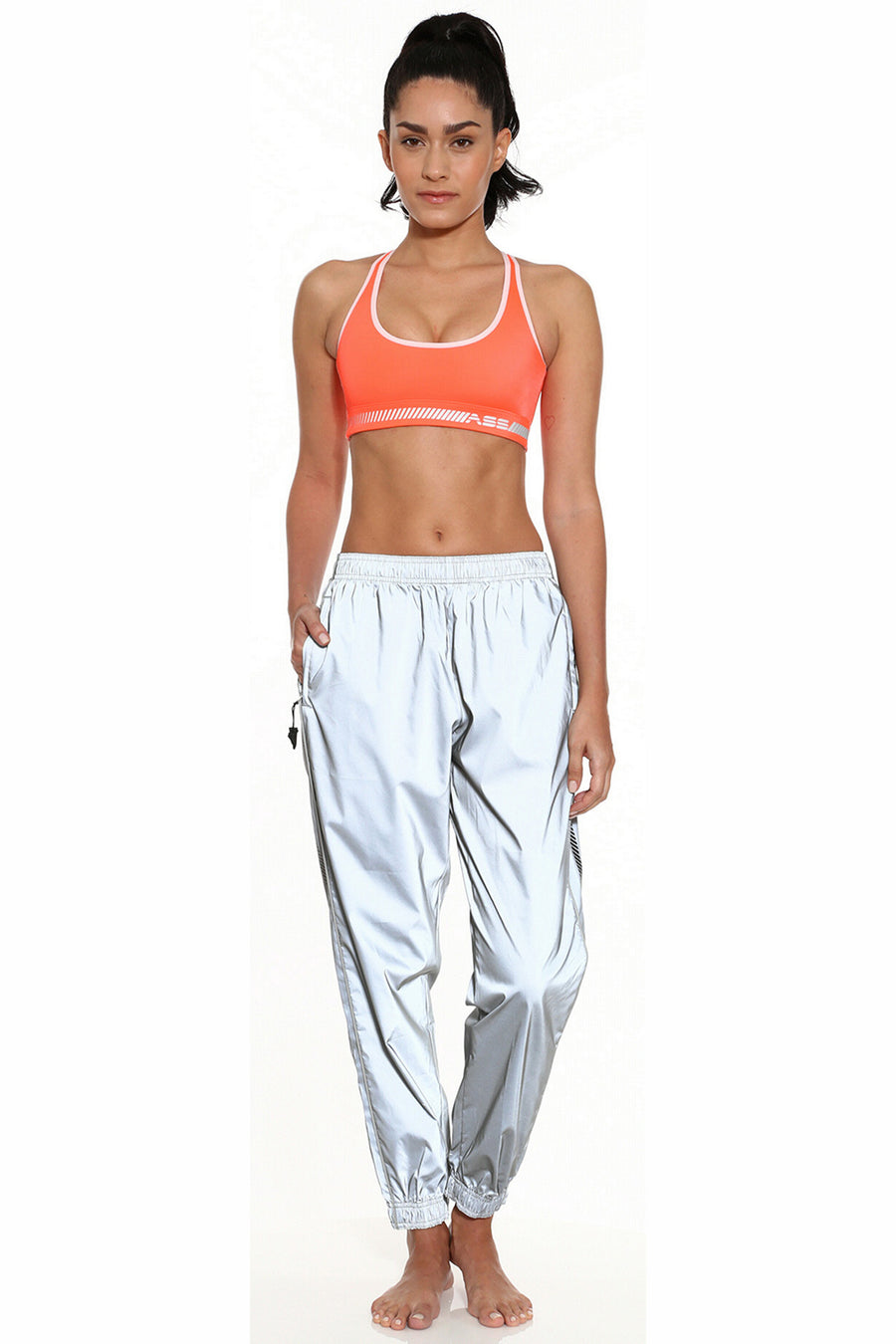 Reflective Track Pant
