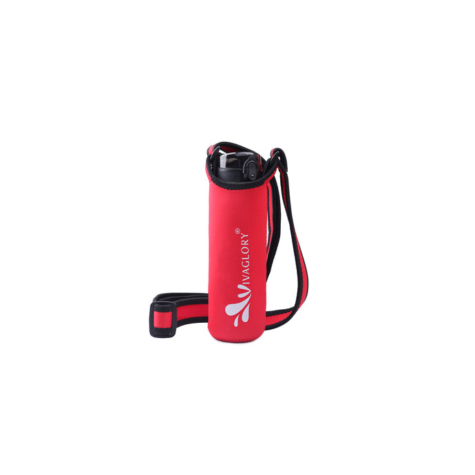 VIVAGLORY Neoprene Water Bottle Holder Sling