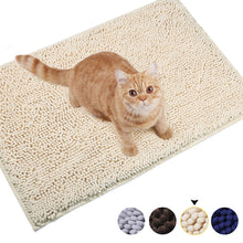 Load image into Gallery viewer, VIVAGLORY 3D Design Microfiber Cat Litter Mats