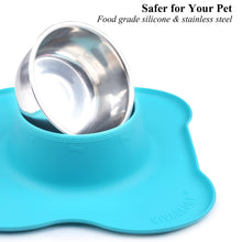 Load image into Gallery viewer, VIVAGLORY New Dog Bowls Set, 2 Pack