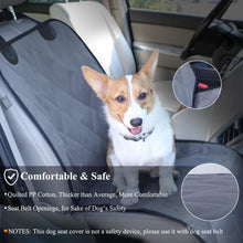 Load image into Gallery viewer, VIVAGLORY Dog Car Seat Covers