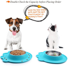 Load image into Gallery viewer, VIVAGLORY Dog Bowls, 2 Pack, 14 oz each