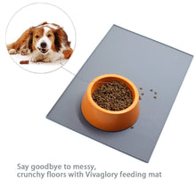 Load image into Gallery viewer, VIVAGLORY Pet Food Mat