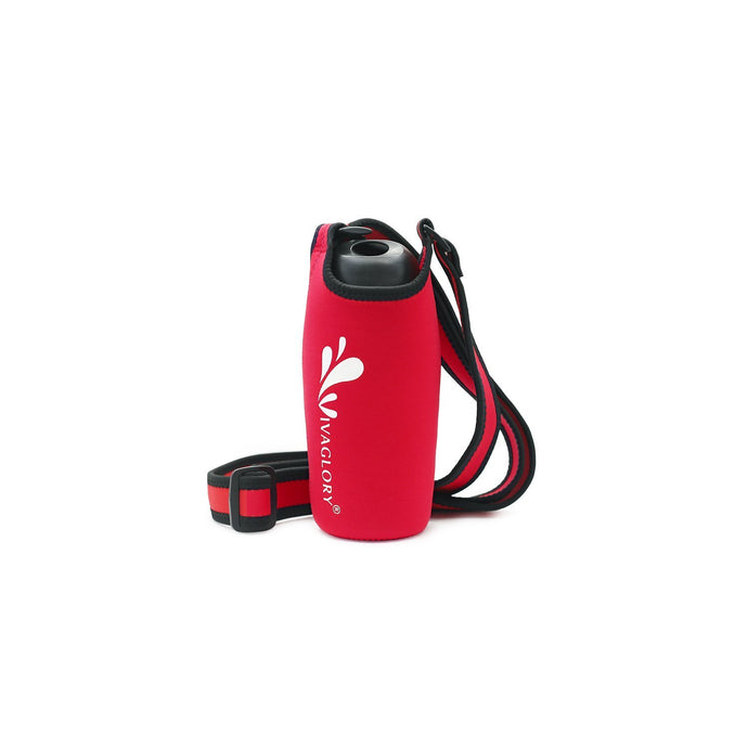 VIVAGLORY Insulated Neoprene Water Bottle Holder Sling