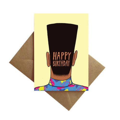 Flat Top Birthday Card