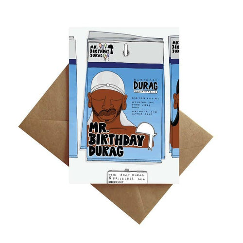 Mr. Birthday Durag Card