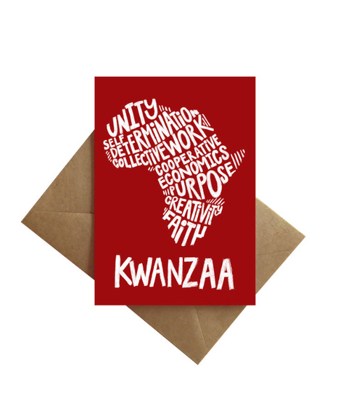 Kwanzaa Principles Card