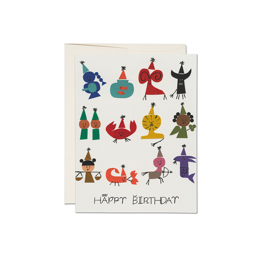 Astrology Party Card