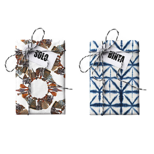 Binta-Solo Doubled-sided Gift Wrap