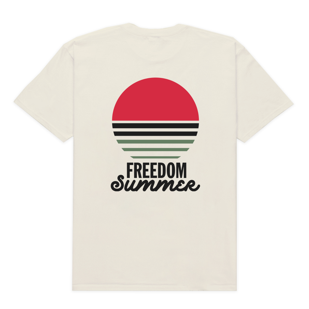 Freedom Summer | Reclaim BLK T-Shirt