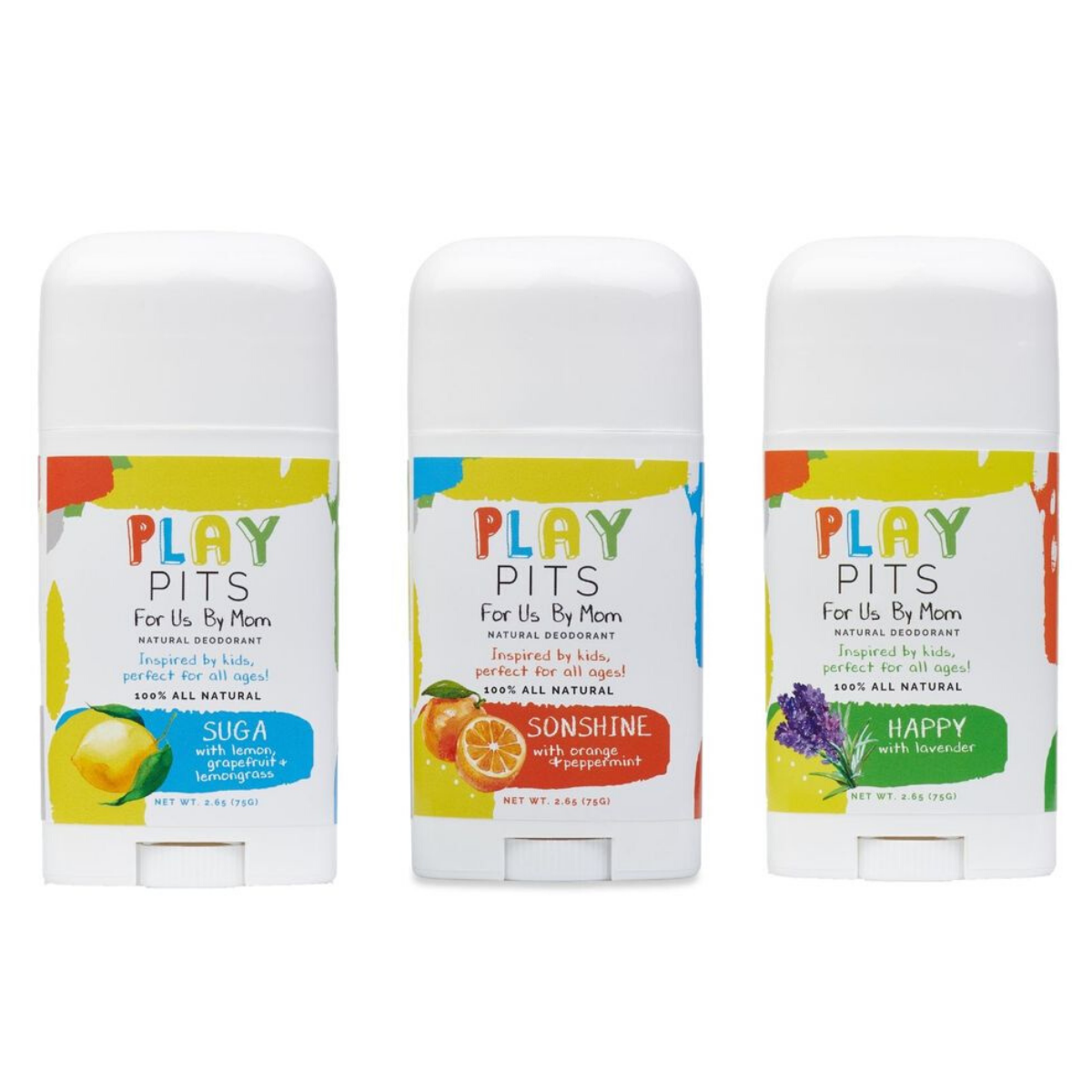 Play Pits Deodorant
