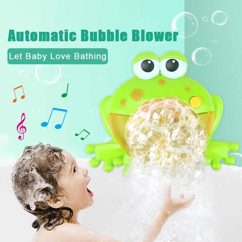 Musical Froggie&Crab Bubble Blower