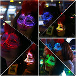 Led Luminous Mask 7 Glowing Colors for Women