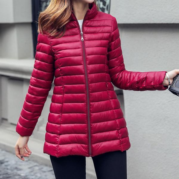 Medium And Long Lightweight Down Jacket