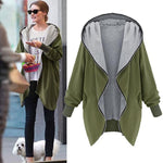 Hoodie Casual Trench Coat