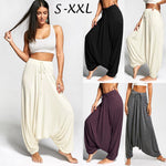 Drawstring Loose Plus Size Harem Yoga Pants