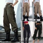 Casual Multi-pocket Loose Cargo Pants