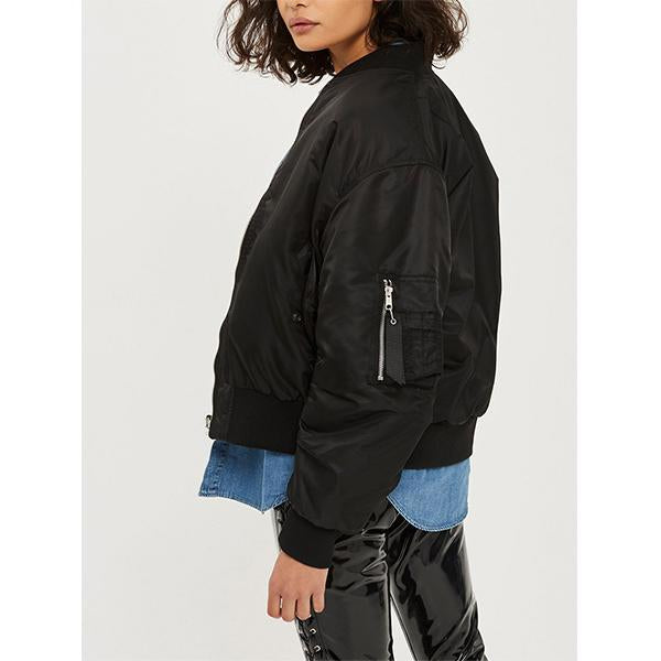 Two-sided Cotton-padded Flight Jacket
