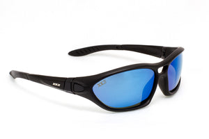 Australia1 Matte Black with Polarized Grey Lenses