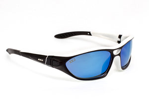Australia1 Matte White/Black with Polarized Grey Lenses