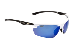 Hawaii1 Performance Sunglasses Matte White with Polarized Grey Lenses