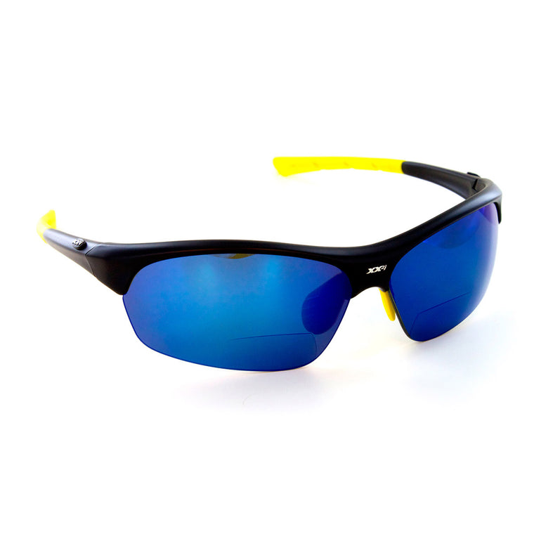 France1 Matte Black Polarized Sport Readers