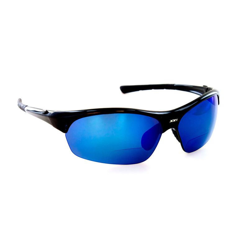 France1 Black Gloss Polarized Sport Reader