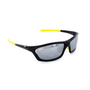 USA1 Performance Sunglasses Matte Black with Black Flash Lens