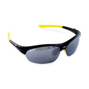 France1 Performance Sunglasses Matte Black with Black Flash Lens