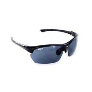 France2 Performance Sunglasses Black Gloss with Grey Lens